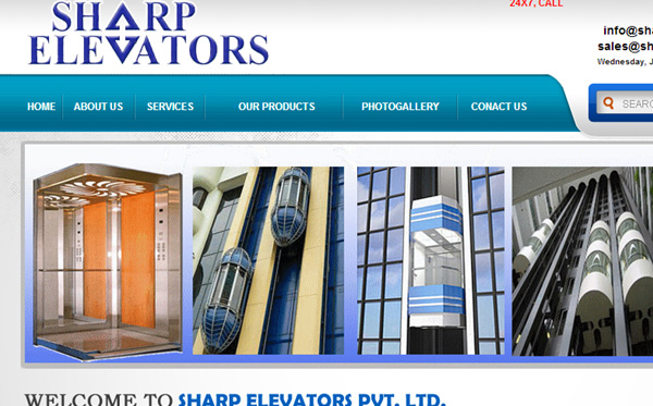 Sharp Elevators